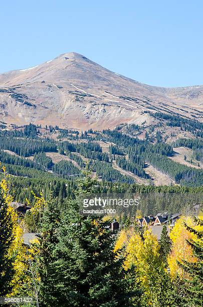 Ski Slopes and Rocky Mountains of Breckenridge, Colorado