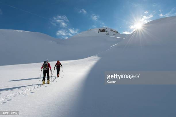 Ski touring in the eternal ice