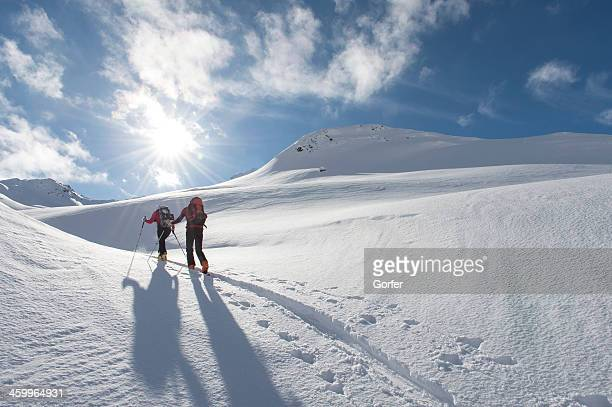 ski touring trails