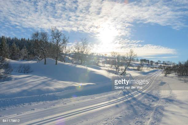 Ski trails for Cross-country skiing
