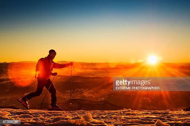 Ski walking