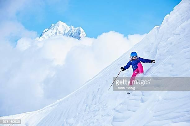 Skier, Chamonix, France
