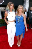Skier Julia Mancuso and Olympian snowboarder Jamie Anderson attends The 2014 ESPYS at Nokia Theatre LA Live on July 16 2014 in Los Angeles California