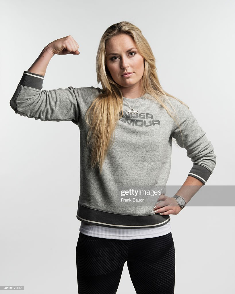 Skier <a gi-track='captionPersonalityLinkClicked' href=/galleries/search?phrase=Lindsey+Vonn&family=editorial&specificpeople=4668171 ng-click='$event.stopPropagation()'>Lindsey Vonn</a> is photographed for Sonntags Zeitung on October 6, 2014 in Hall in Tirol, Austria.