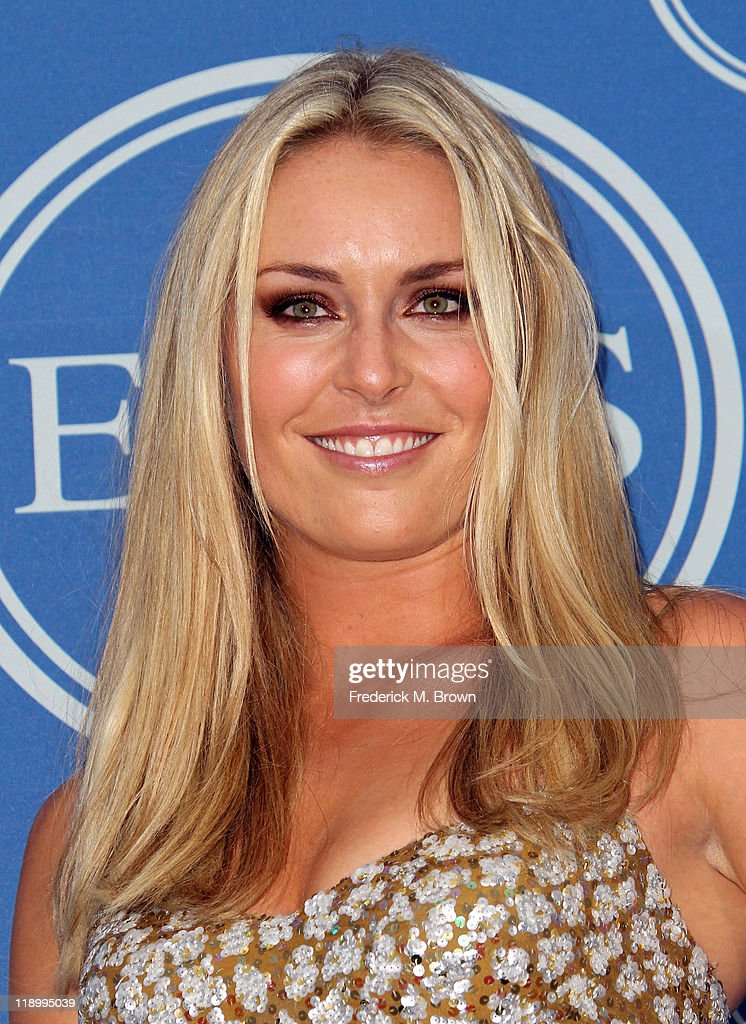 Skier Lindsey Vonn poses in the press room after winning the ESPY for Best Female Athlete at The 2011 ESPY Awards at Nokia Theatre L.A. Live on July 13, 2011 in Los Angeles, California.