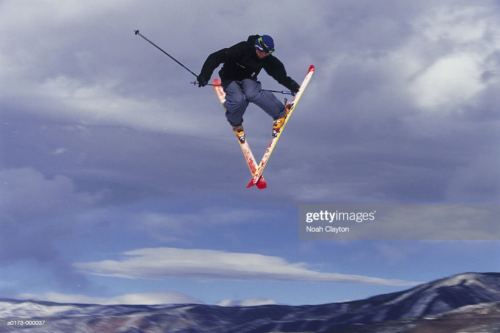 Skier : Stock Photo