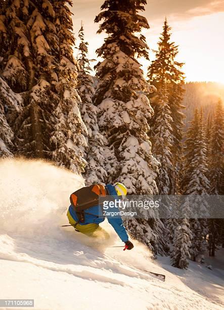 パウダーのスキー