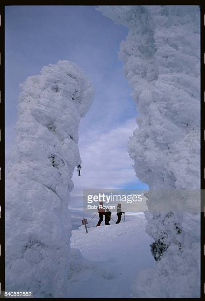 Skiers on Ski Slope