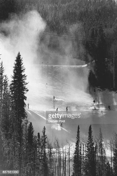 Skiers Sunday at Keystone weren't detered by lift accident and enjoyed a sunny and relatively warm day of skiing but not so warm they couldn't...