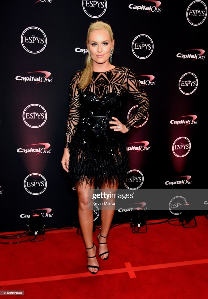 Skiier Lindsey Vonn attends The 2017 ESPYS at Microsoft Theater on July 12, 2017 in Los Angeles, California.