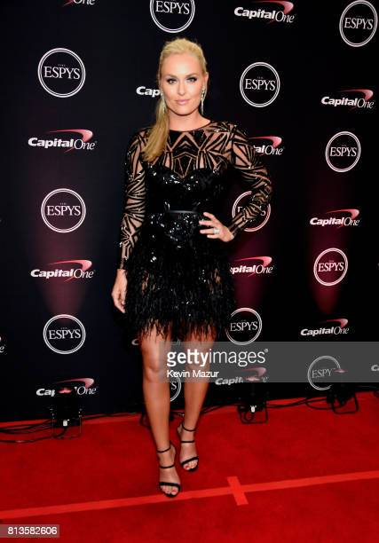 Skiier Lindsey Vonn attends The 2017 ESPYS at Microsoft Theater on July 12 2017 in Los Angeles California