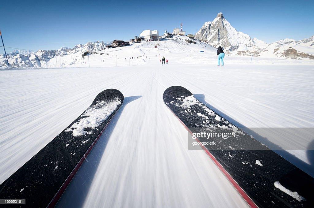Skiing At Speed
