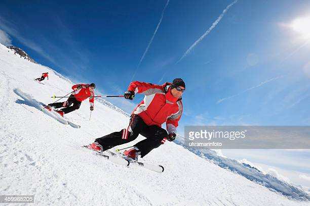 Skiing Carving