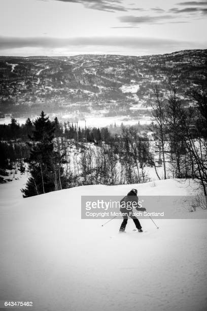 Skiing in Geilo, Norway