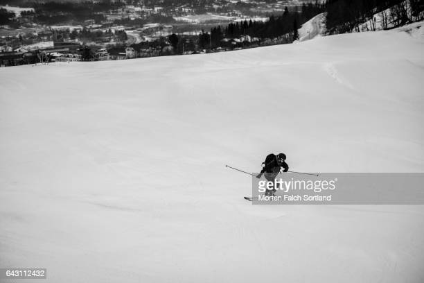 Skiing in Geilo