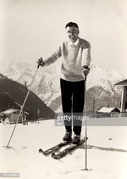 Skiing in the 1950's