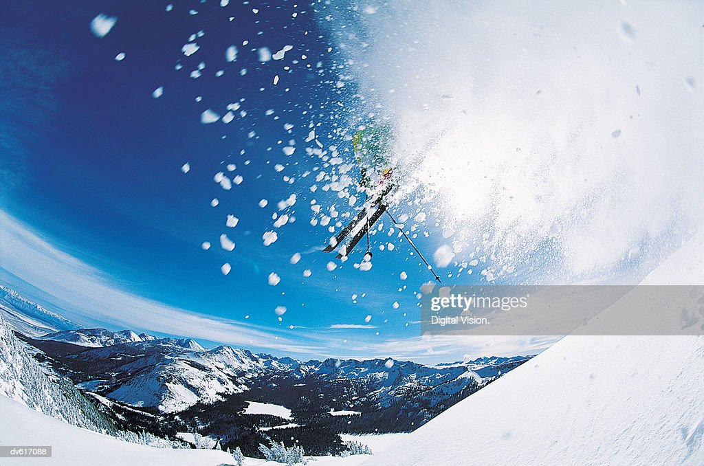 Skiing : Stock Photo