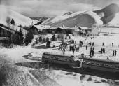 Skiing Resort In Sun Valley In UsaNorth America