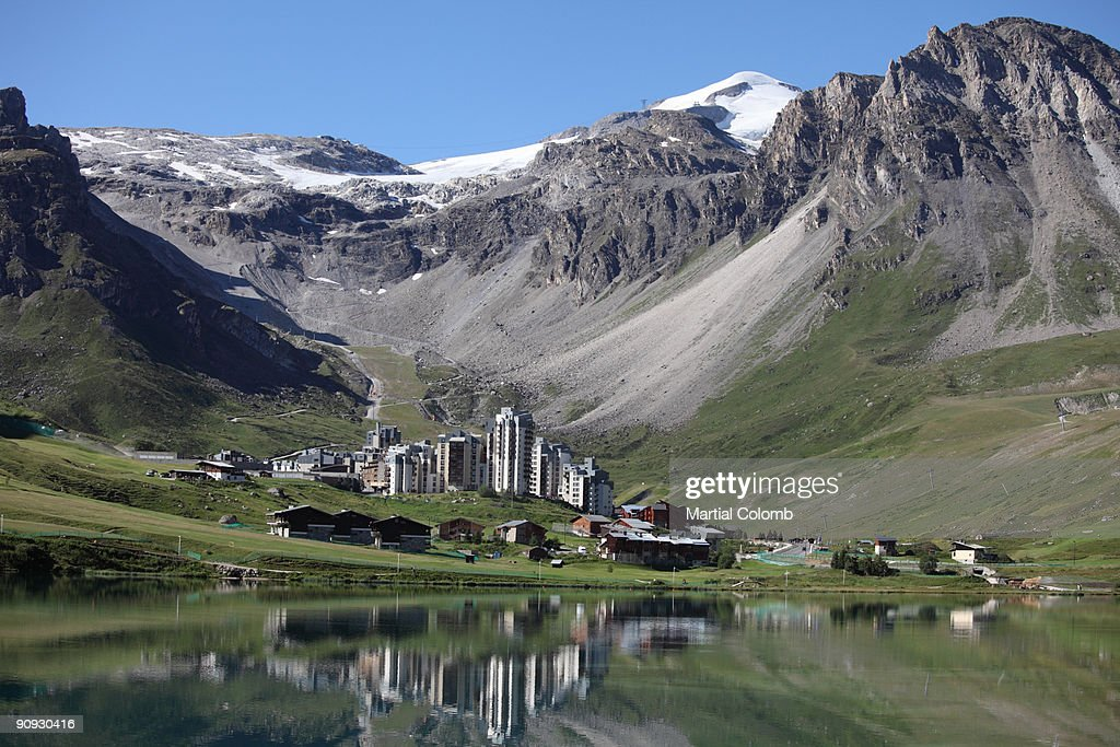 skiing resort of Tignes