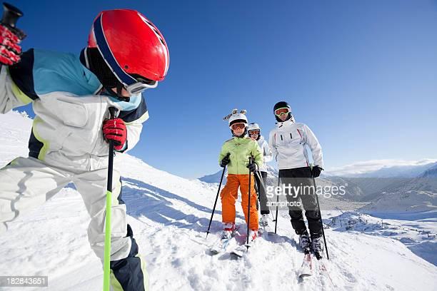 skiing safe
