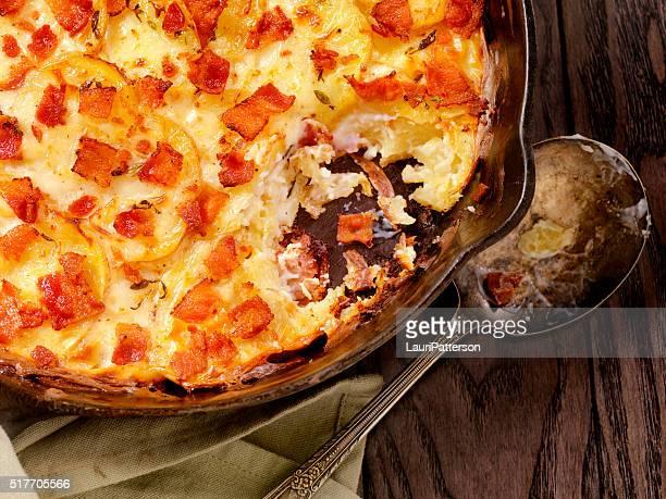 Padella forno, Patate gratinate con pancetta