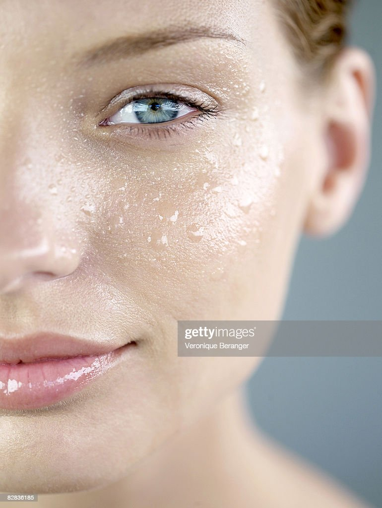 skin and water