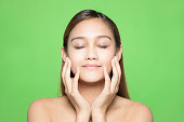 Skin care concept.