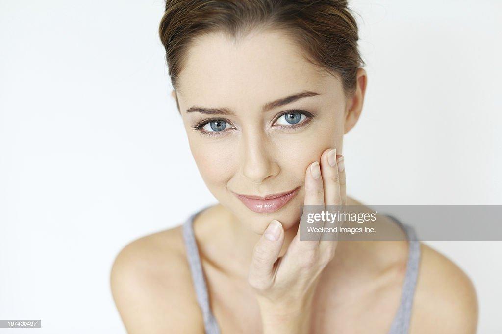 Skin care : Stock-Foto