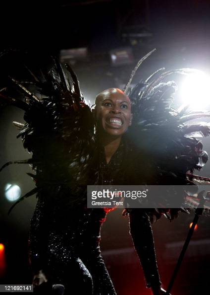 Skin of Skunk Anansie performs on day three of Lowlands Festival on August 21 2011 in Biddinghuizen Netherlands