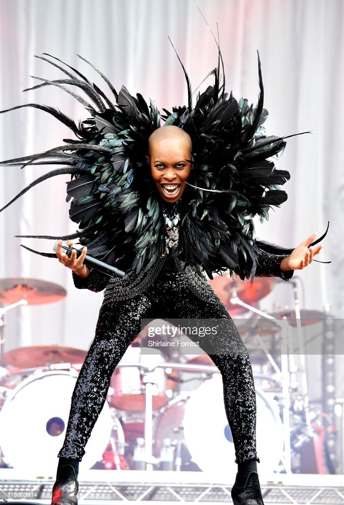 Skin of Skunk Anansie performs on day two of the Download Festival at Donington Park on June 11, 2011 in Castle Donington, England.