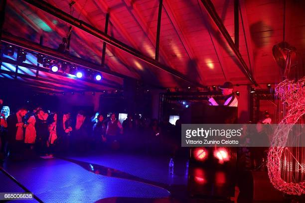 Skin performs at Precious Garage installation designed for Cartier on April 5 2017 in Milan Italy