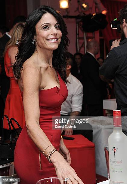 Skinnygirl founder Bethenny Frankel attends the Skinnygirl Cocktails Launch Party at 620 Loft Garden on February 10 2015 in New York City