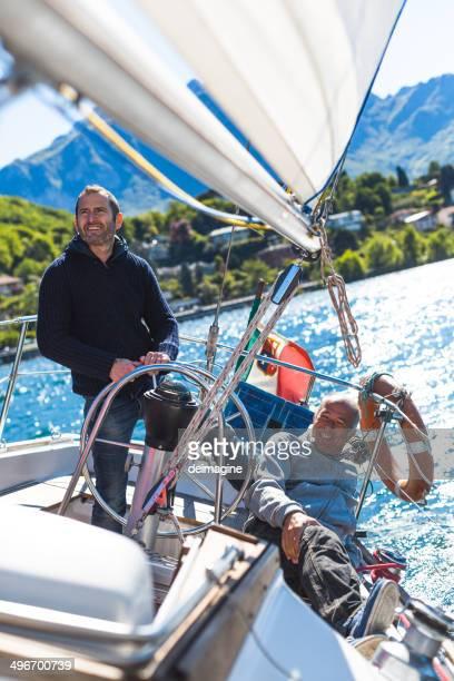 Skipper Sail boat