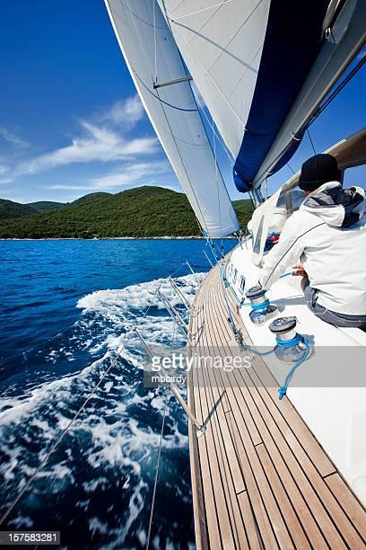 Segeln Segelboot mit Skipper