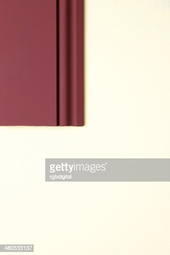 Skirting board : Stockfoto