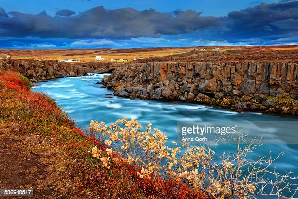 Skjalfandafljot River downstream of Godafoss