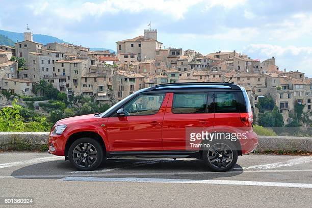 Skoda Yeti Monte Carlo on the road