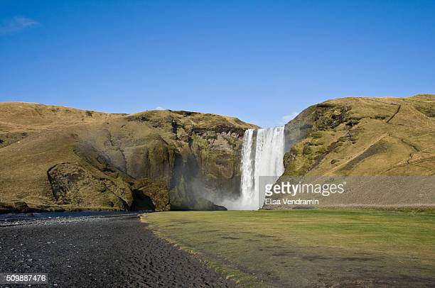 Skogafoss is a waterfall situated in the south of Iceland The Skogafoss is one of the biggest waterfalls in the country with a width of 25 metres and...