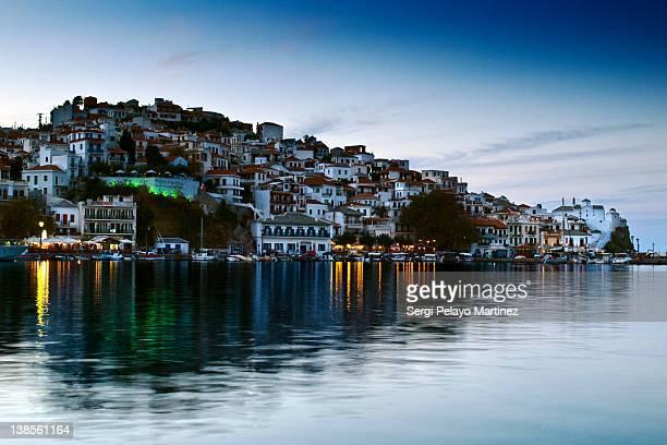 Skopelos city