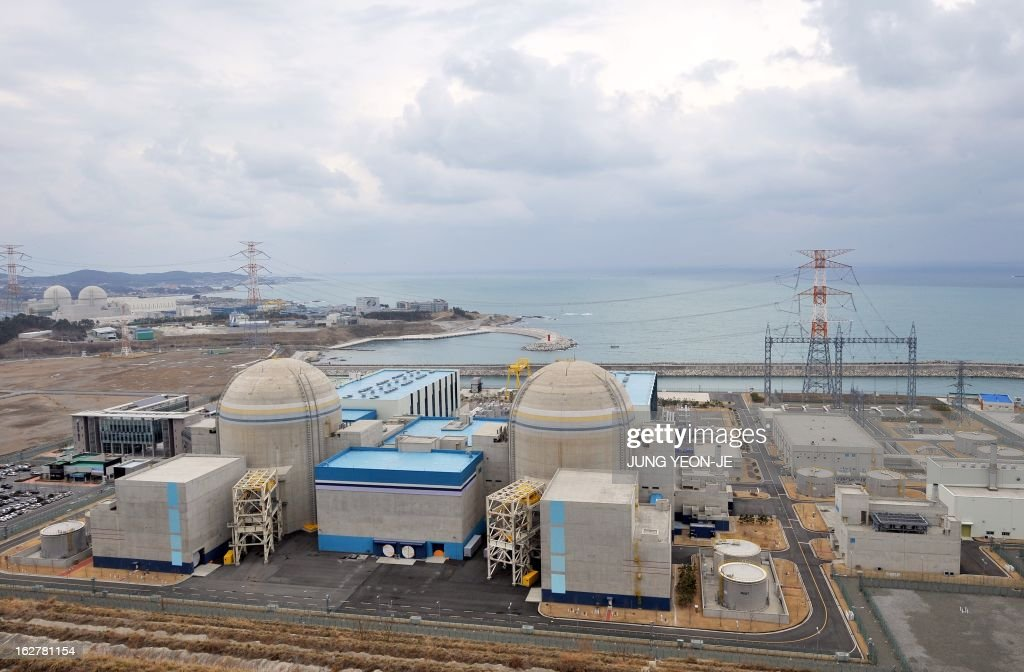 WITH 'SKorea-nuclear-energy,FOCUS' by Lim Chang-Won This photo taken on February 5, 2013 shows South Korea's nuclear power reactor, Shin-Kori 1and 2 called APR-1000, in Gori near the southern port of Busan. South Korea has big plans to become a major nuclear energy player, but they are unfolding at a time when the global industry is under intense scrutiny after the 2011 Fukushima disaster.