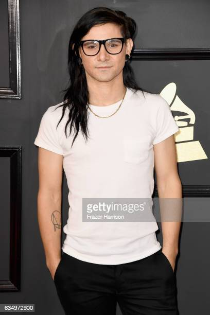 Skrillex attends The 59th GRAMMY Awards at STAPLES Center on February 12 2017 in Los Angeles California