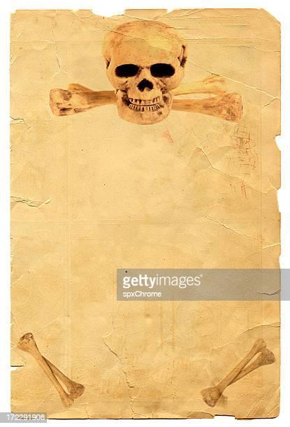 Totenkopf-Poster