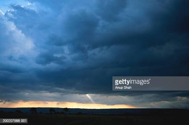 Sky and cloud, Masai Mara, Kenya