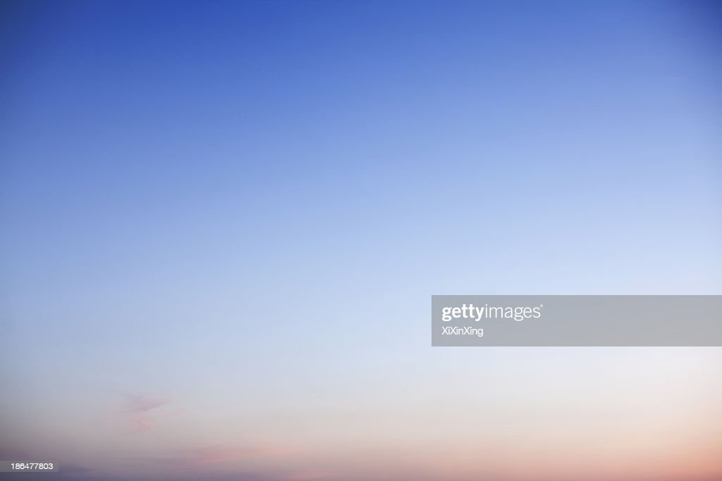 Sky at dusk, only sky, backgrounds