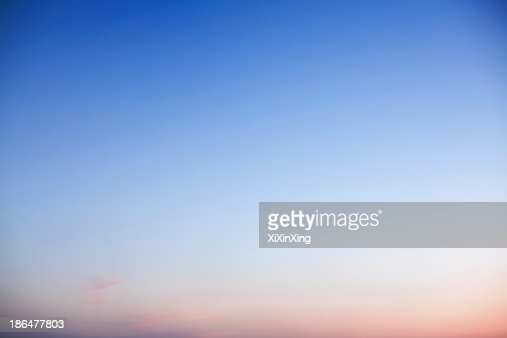 Sky at dusk, only sky, backgrounds