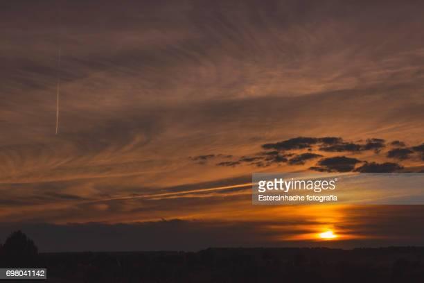 Sky at sunset