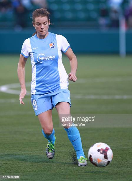 Sky Blue FC fwd Nadia Nadim during a soccer match between Sky Blue FC and Western NY Flash at Sahlen's Stadium in Rochester NY