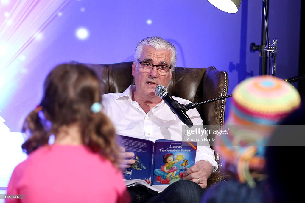 Sky Du Mont attends McDonald's Reading Event at McDonalds Kurfuersten Damm on May 8, 2013 in Berlin, Germany.