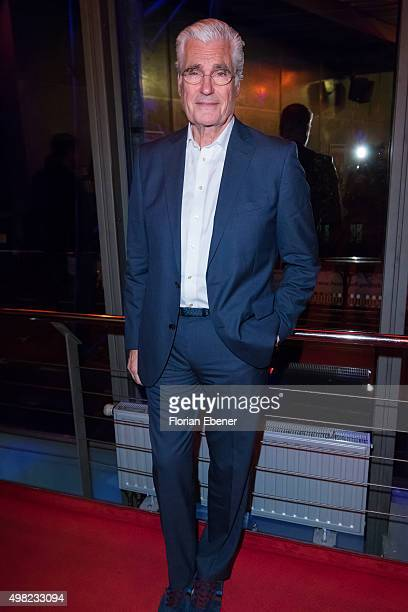 Sky du Mont attends the 'Bodyguard Das Musical' gala premiere at Musical Dome Koeln on November 21 2015 in Cologne Germany Local Caption *** Sky du...