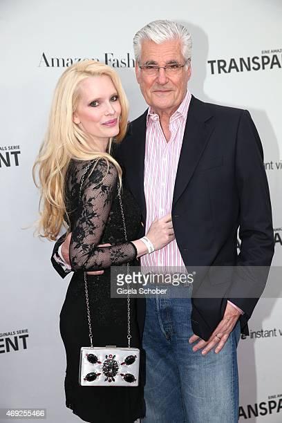 Sky Dumont and his wife Mirja Dumont during the German premiere for Amazon's original drama series 'Transparent' at Kuenstlerhaus am Lenbachplatz on...